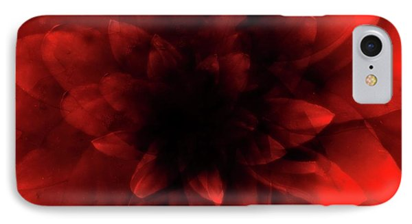 Flower  Red Shade IPhone Case by Johan Lilja