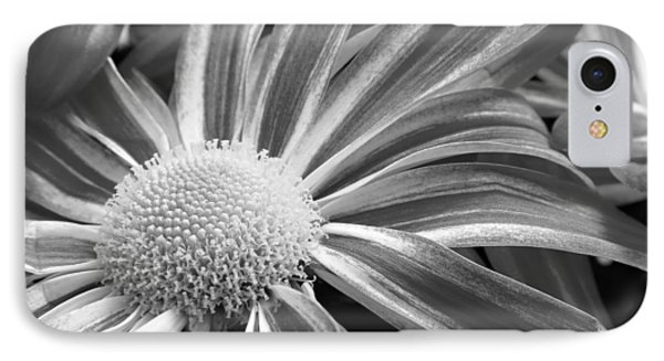 Flower Run Through It Black And White Phone Case by James BO  Insogna