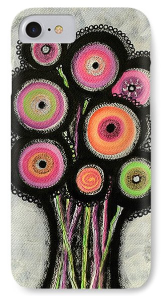 Flower Series 1 IPhone Case by Graciela Bello