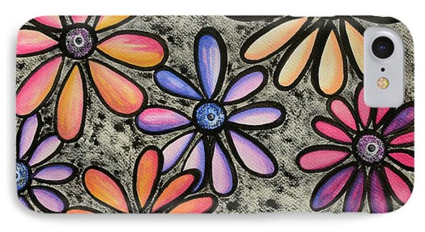 Flower Series 4 IPhone Case by Graciela Bello