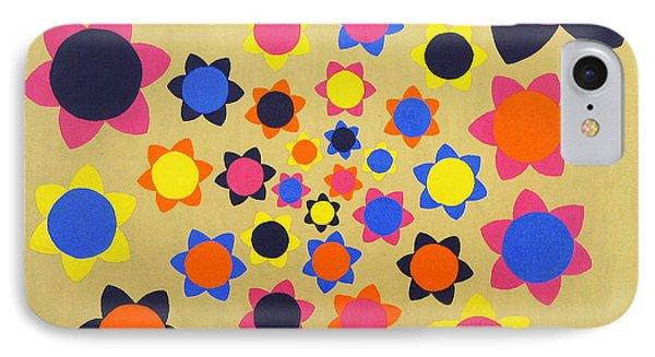 Flower Shower Phone Case by Oliver Johnston
