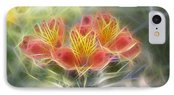Flower Streaks IPhone Case