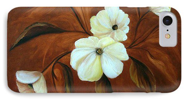 Flower Study IPhone Case by Carol Sweetwood