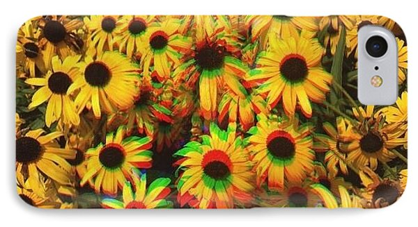 Flower Trip IPhone Case by Annie Walczyk