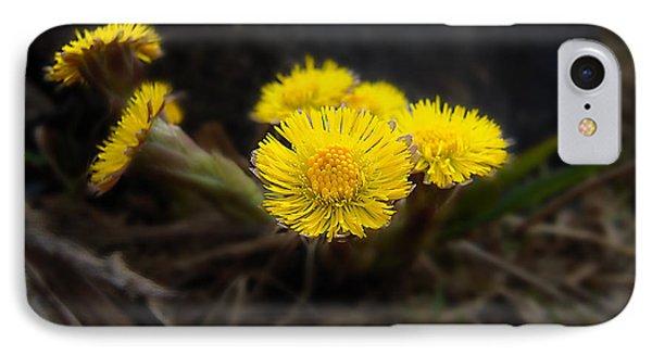 Flower Weed Phone Case by Svetlana Sewell