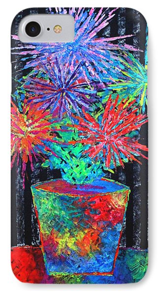 Flower-works Plant IPhone Case by Jeremy Aiyadurai