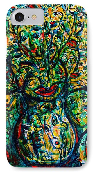 Flowering Humans Phone Case by Natalie Holland