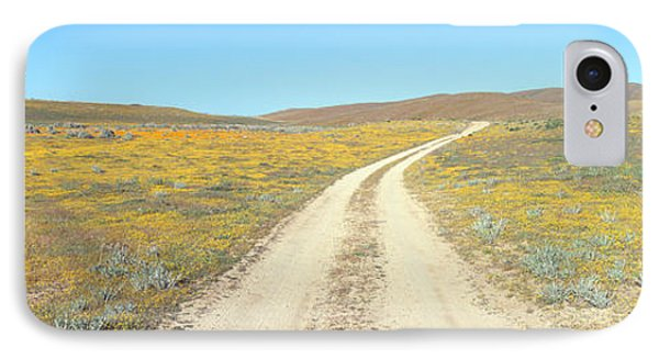 Flowers & Poppies, Antelope Valley IPhone Case by Panoramic Images