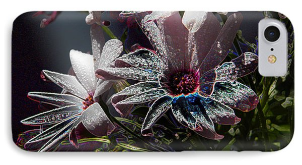 IPhone Case featuring the digital art Flowers by Stuart Turnbull