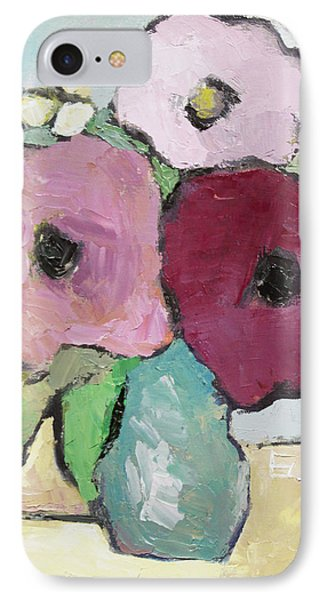 Flowers 1601 IPhone Case by Becky Kim