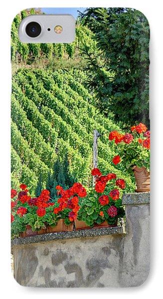 Flowers And Vines IPhone Case by Alan Toepfer