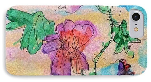 Flowers Are Blooming  IPhone Case