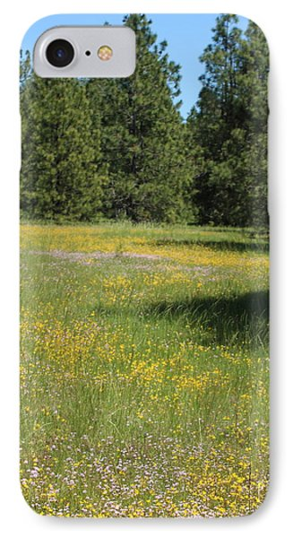 Flowers At Fish Hatchery IPhone Case