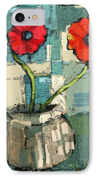 Flowers IPhone Case by Carrie Joy Byrnes