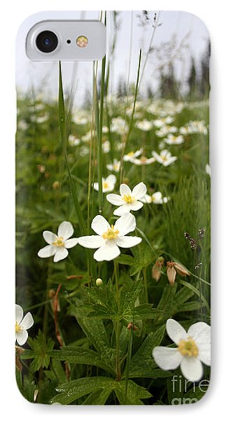 Flowers Everywhere IPhone Case by Andrew Serff