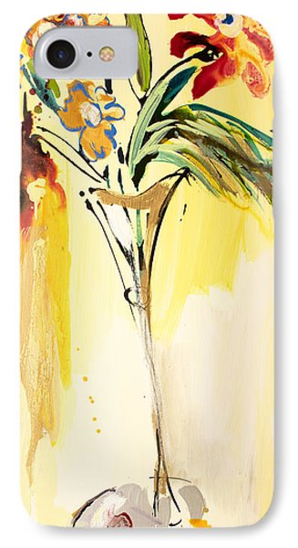 Flowers Flowing In Yellow IPhone Case