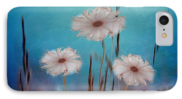 IPhone Case featuring the digital art Flowers For Eternity 2 by Klara Acel