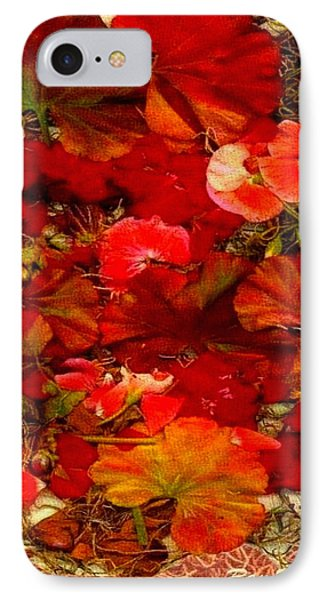 Flowers For You IPhone Case by Ray Tapajna