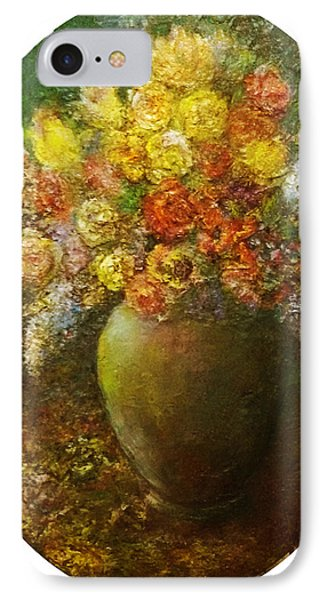 Flowers I A Green Vase IPhone Case