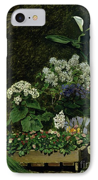 Flowers In A Greenhouse IPhone Case