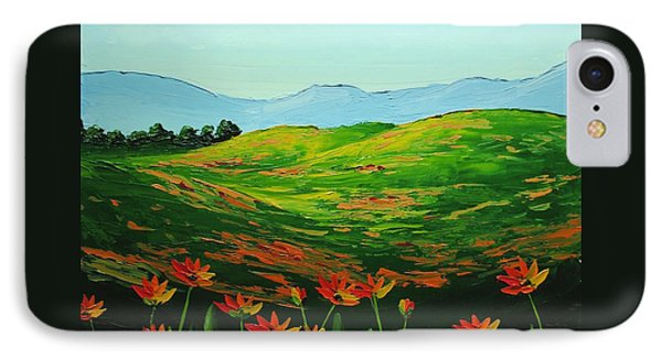 Flowers In A Meadow Phone Case by Nolan Clark