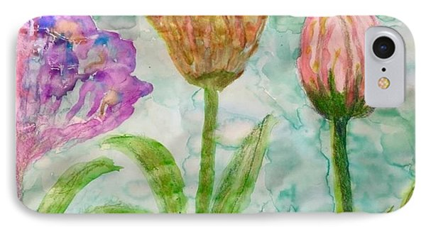 Tulips A'bloom IPhone Case