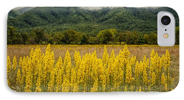 IPhone Case featuring the photograph Flowers In Cades Cove by Tyson Smith