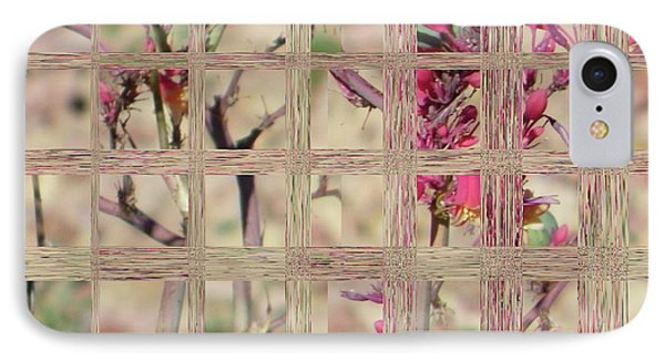 Flowers In Glass IPhone Case by Lenore Senior