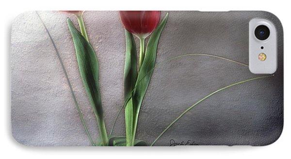 Flowers In Light Phone Case by Jack Eadon