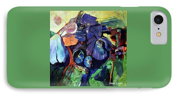 Flowers IPhone Case by International Artist Joan Litsey