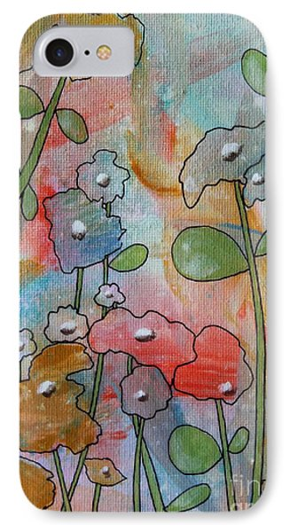 Flowers IPhone Case by Karla Gerard