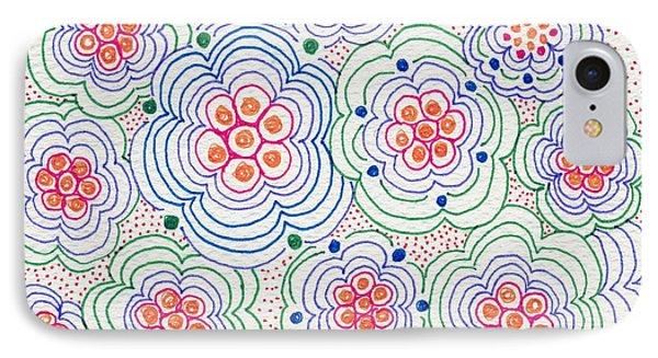 Flowers IPhone Case by Leslie Genser