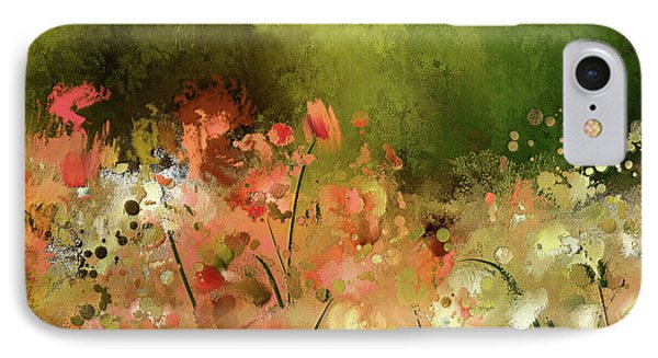 IPhone Case featuring the digital art Flowers Of Corfu by Lois Bryan