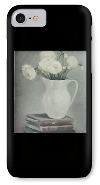 Flowers On Old Books IPhone Case