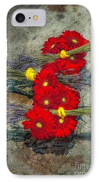 IPhone Case featuring the photograph Flowers On Rocks by Nick Zelinsky