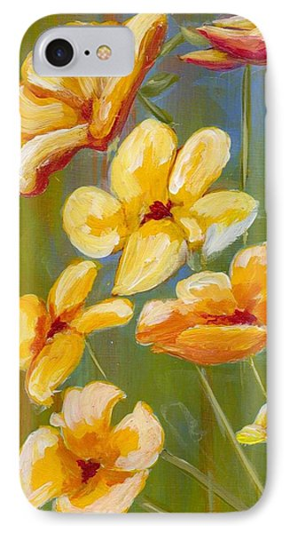 Flowers IPhone Case by Patricia Cleasby