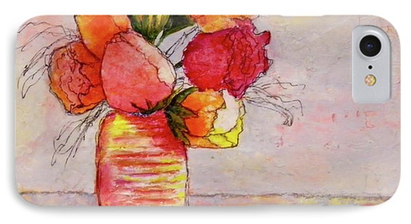 Flowers IPhone Case by Terry Honstead