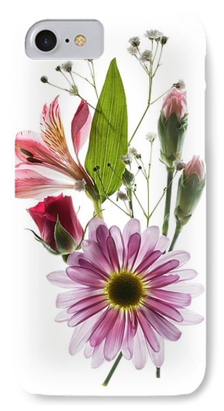 Flowers Transparent 1 IPhone Case by Tom Mc Nemar