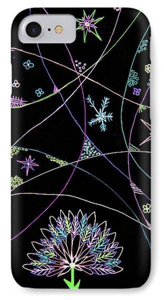 Flowery Night IPhone Case