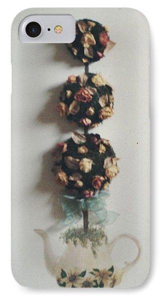 Flowery Teapot IPhone Case