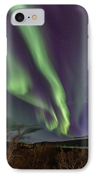 Flowing Aurora IPhone 7 Case by Hitendra SINKAR