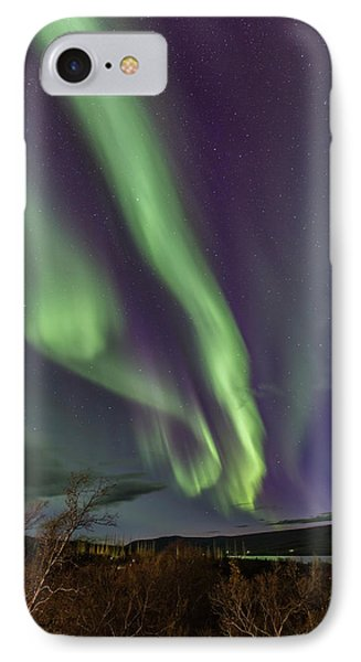 Flowing Aurora IPhone Case