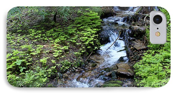 IPhone Case featuring the photograph Flowing Creek by Ben Upham III
