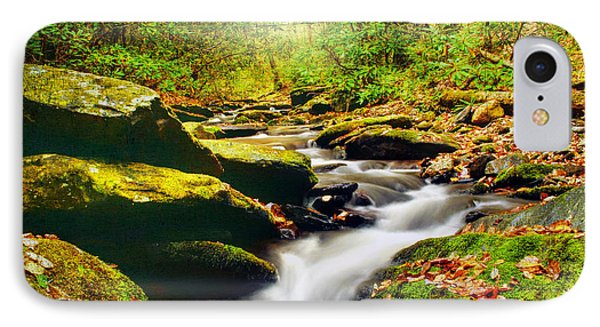Flowing Softly IPhone Case by Darren Fisher