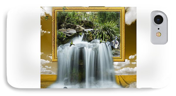 Flowing Waterfall IPhone Case