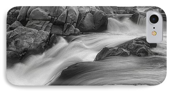Flowing Waters At Kern River, California IPhone Case by John A Rodriguez