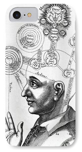 Fludds Mental Faculties, 1617 IPhone Case by Wellcome Images