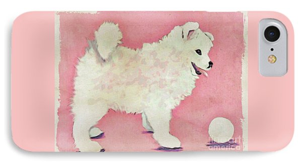 Fluffy Pup IPhone Case by Phyllis Kaltenbach