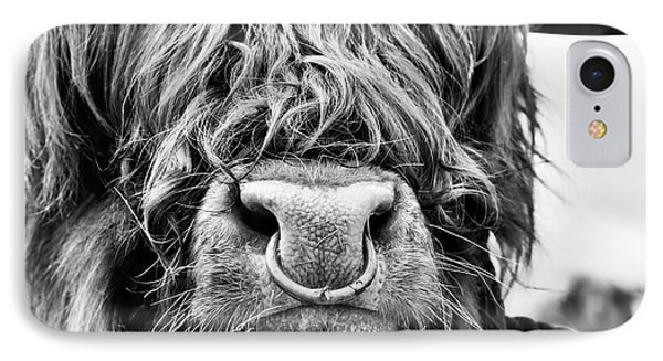 IPhone Case featuring the photograph Fluffys Grumpy Uncle by Tim Gainey