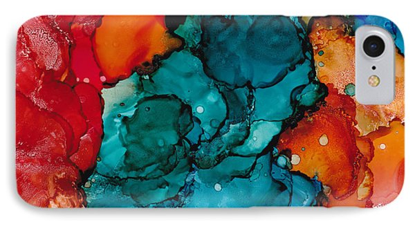 Fluid Depths Alcohol Ink Abstract Painting By Nikki Marie